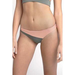 Tavik Jaclyn Bikini Bottom Cheeky Pink Colorblock